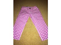 Girl's Benetton trousers, extra small