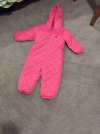 Next padded snow / rain suit