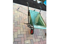 Fold up Wheelbarrow Virtually New