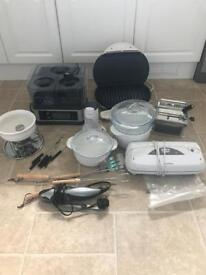 Job lot of kitchen equipment