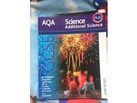 Aqa additionele Science book for sale!