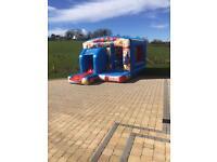 Brand new super hero Bouncy castle