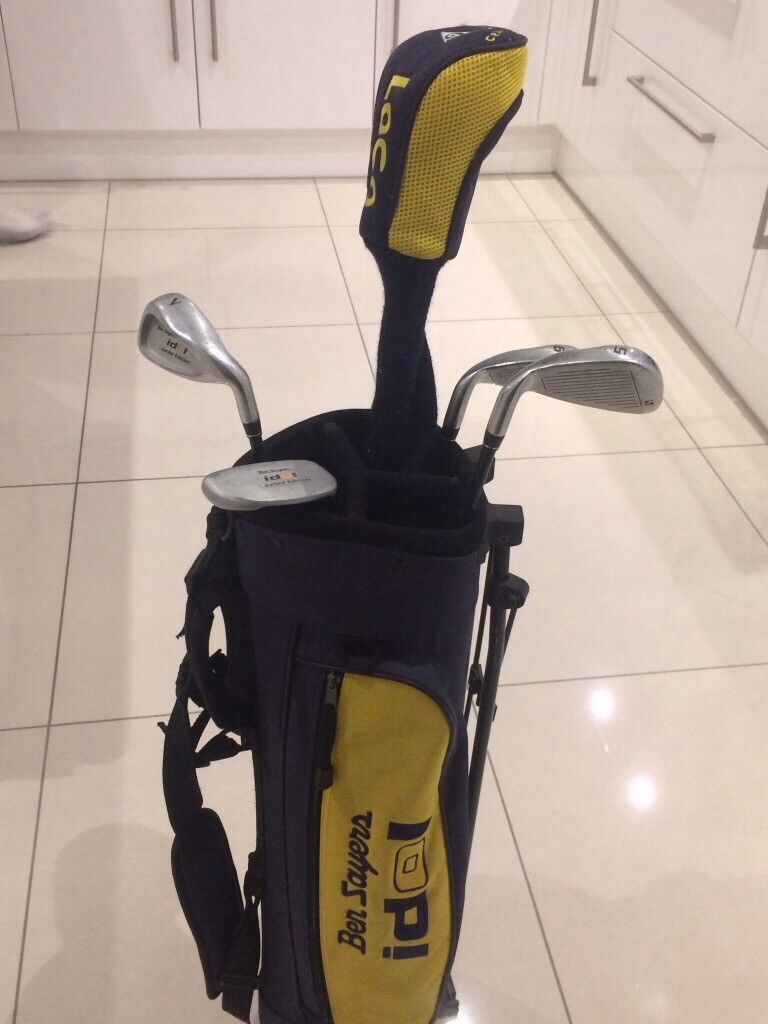 Children's golf clubs and bag for sale