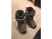 Burton Snowboard x 2, Burton Custom Bindings and Vans Snowboard Boots - Excellent Condition