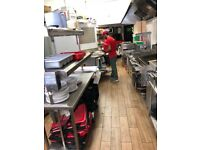 Fast food restaurant pizza & kebab