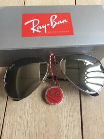 Ray Ban sunglasses. With all packaging. Never worn