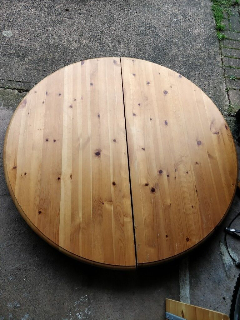 46 Inch Round Table.46 Inch Diameter Extending Round Table In Exeter Devon Gumtree