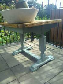 1930s Dining Table - LIVE WOODWORM