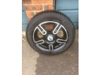Mini one cooper s ronal wheels and tyres
