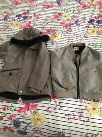 Parker and bomber coat 2-3