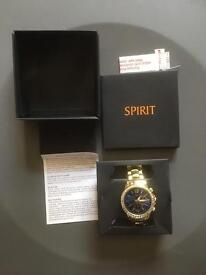 SPIRIT LADIES WATCH WITH BOX IN FULLY WORKING ORDER