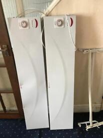 Electric wall mounted radiators