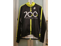 "As new Champion System ""700"" long sleeve tech fleece cycling jersey, with full length zip; medium"