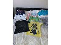 size 11-12 years mixture of boys clothes/body warmer/hoodie