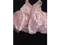 Baby girl clothes newborn to 3-6 months, large bag.