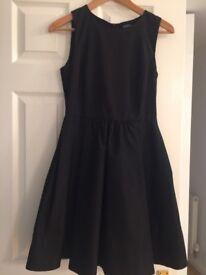 Never worn Black Zara evening dress. Size small
