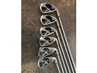 Callaway x22 irons 5 to pw