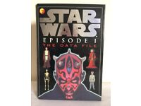 Star Wars Vintage Episode 1 Funfax. The Data File. Darth Maul cover.
