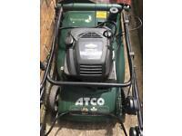 Electric start petrol Atco mower 'Viscount'