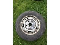 Transit spare wheel and tyre