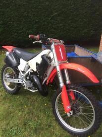 Honda CR125. Lovely motocross dirt bike