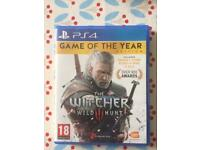 PS4 The Witcher: Wild Hunt - Game of the year edition