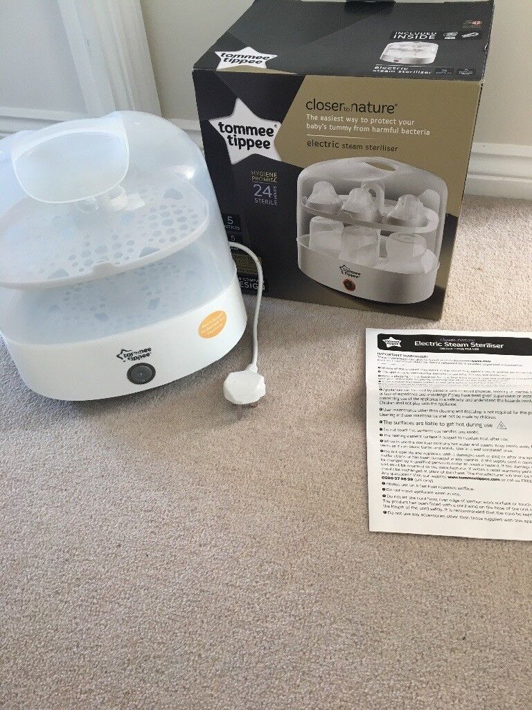 Tommee Tippee electric steam steraliser