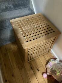 IKEA wooden storage unit