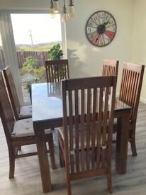 Solid wood- dining/kitchen furniture