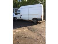 Transit RWD LWB 2402cc 04 plate breaking for spares