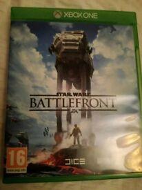 Xbox one Star Wars Battlefront Game