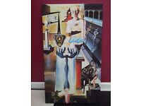 "Salvador Dali ""The Invisible Man"" 1929-33 Gallery Wrap Canvas Painting - Excellent re-production"