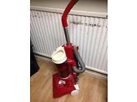 Hoover cleaner upright vacuum machine