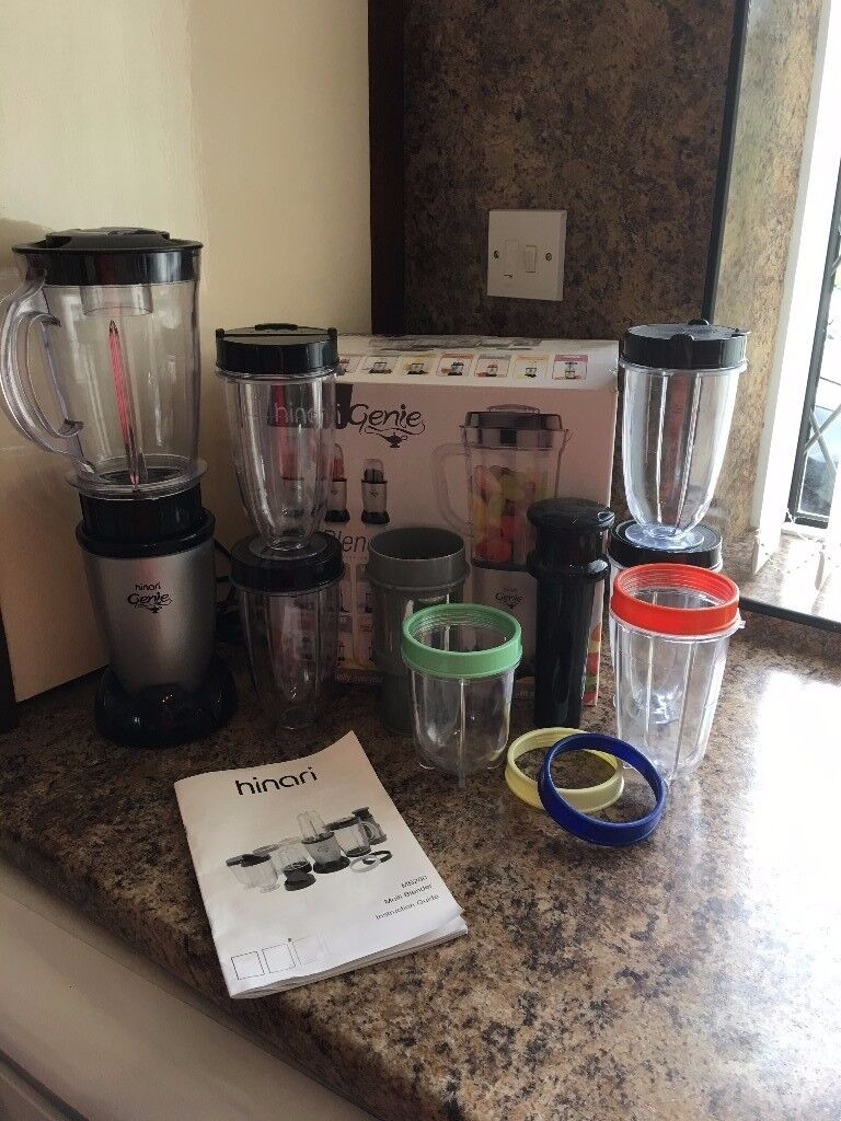 Hinari Genie Food Blender complete and in Box
