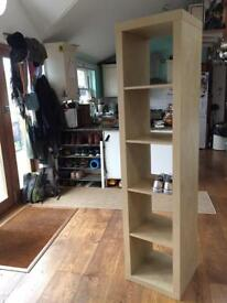 Open shelving unit for bedroom, lounge or hallway