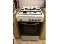 Montpellier MSG49W 50cm Single Cavity Gas Cooker in White