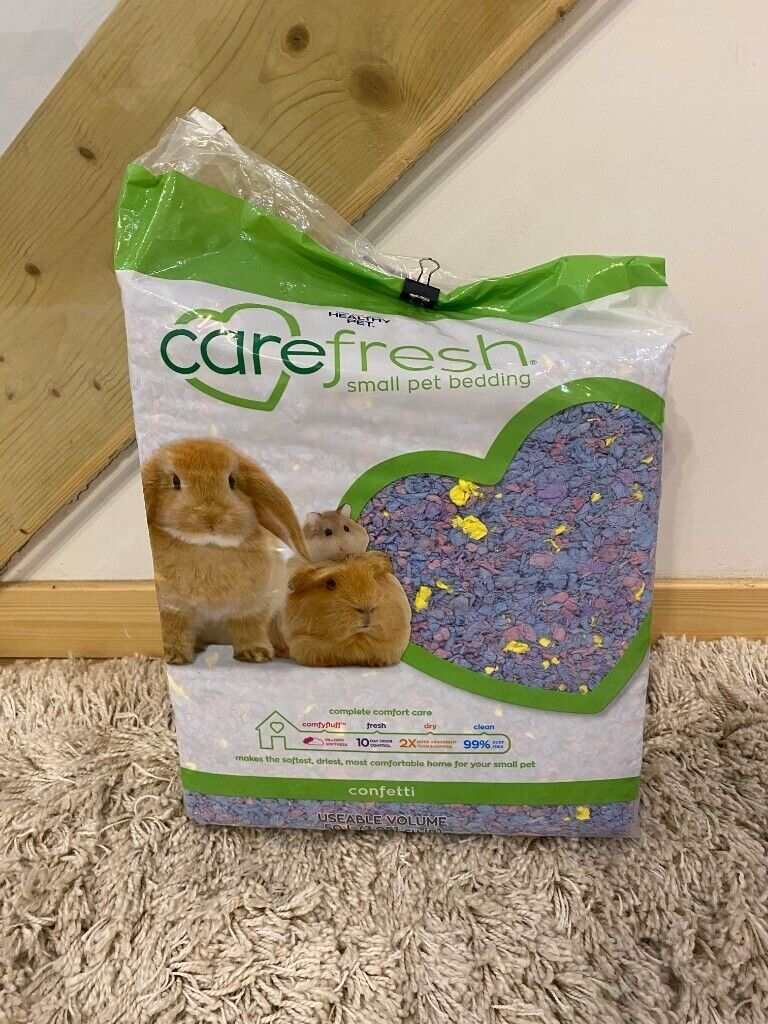 Carefresh Complete Natural Paper Bedding For Small Pets Confetti 50 Lt In Old Town Edinburgh Gumtree