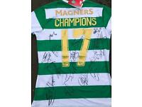 50th Anniversary Celtic shirt **SIGNED** 2016/2017