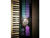 Yamaha 185 Electric Keyboard & Stand