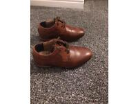 Tan infant shoes size 6 from River Island