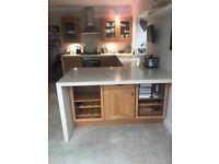 Kitchen. Solid Oak doors