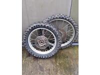 Kx 85 small wheel not (yz,cr,ktm,85)