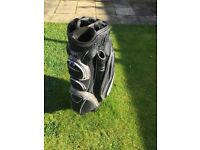 Adams Golf Cart bag & Stowmatic Trolley for sale