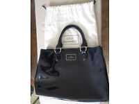 Genuine Blue Lulu Guinness handbag with dust cover in excellent condition