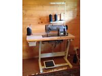 SEIKO heavy duty/ leather flat post sewing machine