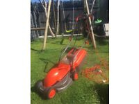 Free Flymo Visimo lawnmower. Not working- for spares/repair
