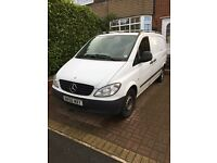 Mercedes Vito 111 panel van SWB, Roof bars, Ply lined, Air con VGC £2950 ono