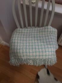 Laura Ashley blanket throw