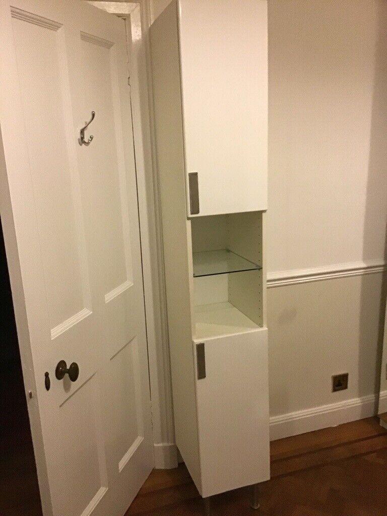 Super Ikea White Bathroom Cabinet In Edinburgh Gumtree Home Interior And Landscaping Ponolsignezvosmurscom