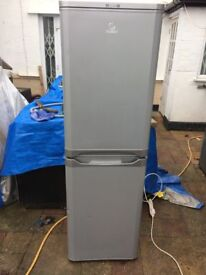 **INDESIT**SILVER**FRIDGE FREEZER**ENERGY RATING: A+**235 LITRE**NO OFFERS**MORE AVAILABLE**